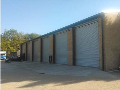 Vehicle Workshop design by Claylands Architects of Norfolk