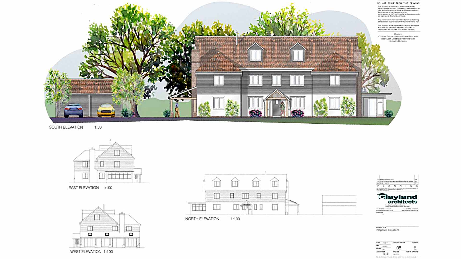 Greengate Farm design by Clayland Architects