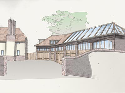 Castle Lane Garage designed by Clayland Architects