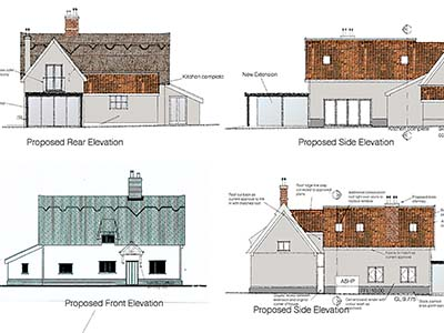 Harris Green Barn Design by Clayland Architects of Norfolk