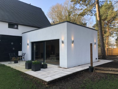 Passivhaus Extension Designed by Clayland Architects